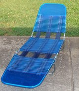 Chaise Lounge Blue Reduced in Clarksville, Tennessee
