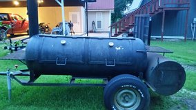 Large BBQ Pit Smoker in Fort Polk, Louisiana