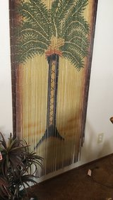 Palm Tree beaded curtains in Travis AFB, California