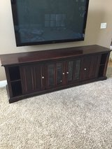 "Stanley furniture TV console-Espresso finish/60"" Plasma sold separately in Chicago, Illinois"