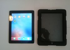 Apple iPad 2 32GB Black w/Protective case in Ramstein, Germany