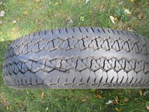 Uniroyal White Wall Car Tire in Chicago, Illinois