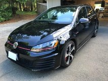 VW Golf GTI Autobahn w/Performance Package in Fort Lewis, Washington