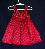 Penny M Baby Girl Dress, Size 18 Months, Maroon/Burgundy in Lawton, Oklahoma