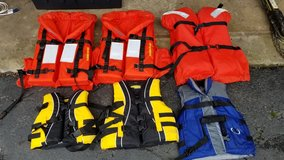 Infant through Youth Life Vests. All styles in Glendale Heights, Illinois