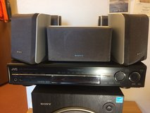 Sony stereo and JVC Receiver (RECIEVERSOLD) in Ramstein, Germany