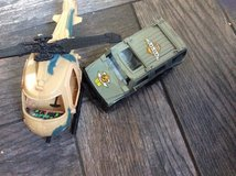 Toy keep and helicopter in Batavia, Illinois
