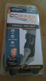 copper fit wrist relief s/m left hand in Perry, Georgia