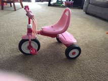 Girl's tricycle in Hinesville, Georgia