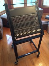Mackie CR 1604 VLZ 16 Channel Mixer and Rack Stand in DeKalb, Illinois