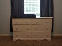 Dresser/changing table & chest of drawers in Kingwood, Texas