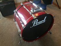 Pearl BLX All Birch 5 Piece Drum Set - Beautiful Red Sequoia - Rare in DeKalb, Illinois