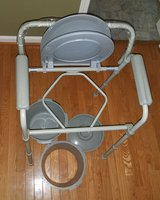 New Bariatric Folding Bedside/Commode/Walker in Camp Lejeune, North Carolina