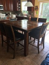 Dining room set- table and 6 chairs in Naperville, Illinois