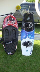 Liquid Force wakeboard and Sonic kneeboard w rope etc.. in Cherry Point, North Carolina