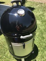 "Large Weber Smokey Mountain Smoker (22"") in Oceanside, California"