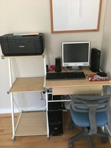 Computer desk and chair in Oceanside, California