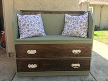 French Country Bench w/ dresser drawers in Oceanside, California