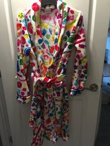PRICE DROP - DYLAN'S CANDY BAR FUZZY CANDY SPILL ROBE in Bolingbrook, Illinois