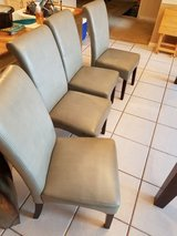 4 Dining room chairs in Fort Benning, Georgia