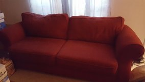 Couch and love seat in Perry, Georgia