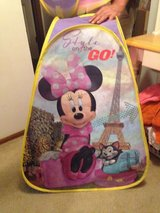Minnie Mouse tent and tunnel in Cleveland, Ohio
