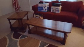 Coffee table and two matching end tables in Perry, Georgia