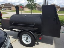 Smoker trailers, bounce house, water ball pool, fans, party tents etc for rent in Kingwood, Texas