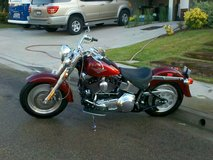 2000 Harley Fat Boy in Camp Pendleton, California