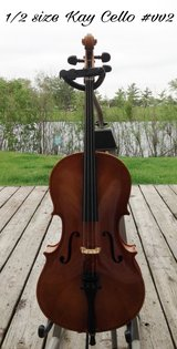 1/2 size Kay Cello #vv2 in Lockport, Illinois