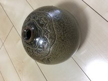 "Ceremic Decor Pot can be used as flower pot 10"" Tall 12"" Round in Okinawa, Japan"