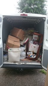 INSTANT JUNK REMOVAL/TRASH HAUL/FMO STUFF/TRANSPORT in Ramstein, Germany