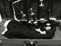 Macleod bagpipes with case in Camp Pendleton, California