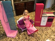Barbie home set in Naperville, Illinois