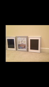Set of 3 Picture frames in Naperville, Illinois