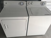 Matching GE washer/dryer in Cherry Point, North Carolina