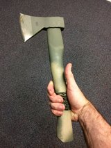 Field Hatchet in Fort Benning, Georgia