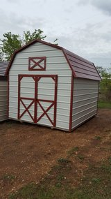 10'x12' Metal Lofted Barn in Fort Leonard Wood, Missouri