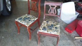 4 1950s wooden chairs in Lawton, Oklahoma