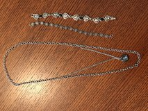 Silver necklace and two bracelets in Warner Robins, Georgia