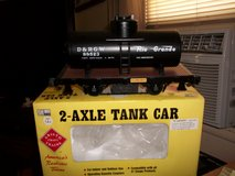 "ARISTO-CRAFT 1:29 Scale 2-Axle Tank Car ""Rio Grande # 88523 G Scale in Joliet, Illinois"