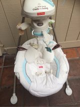Fisher Price Cradle & Swing little lamb in Huntington Beach, California