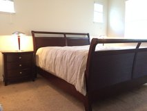 King Solid Wood Bedroom Set - include 2 Dressers and a mirror not shown more photos on request in Travis AFB, California