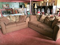 Nice Matching Couch and Loveset in Fort Polk, Louisiana