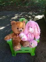 Teddy Bear & Bunny Rabbit-Reducing from $7. Each --to $7 For both?????????? in Fort Campbell, Kentucky