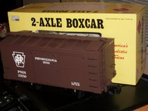 ARISTO-CRAFT 1:29 Scale 2-Axle Boxcar Pennslvania RR  G Scale in Joliet, Illinois