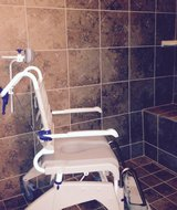 Aquatec OceanDual Shower/Commode Chair in Kingwood, Texas