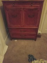armoire, long dresser and nightstand in Clarksville, Tennessee