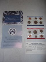 1997 Mint, Uncirculated Coin Set in Byron, Georgia
