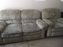 Couch and loveseat in Oceanside, California